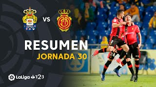 Resumen de UD Las Palmas vs RCD Mallorca (1-2)