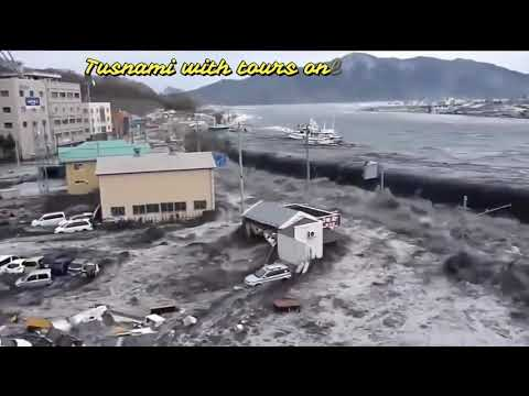 Tusnami2004|5 Biggest Tsunami Caught On Camera|Japan Tsunami video collection-Unbelievable moments|