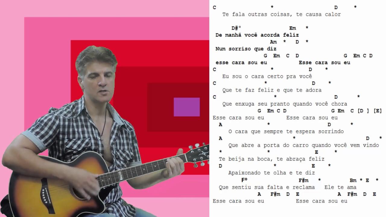 Letra Da Musica Esse Cara Sou Eu