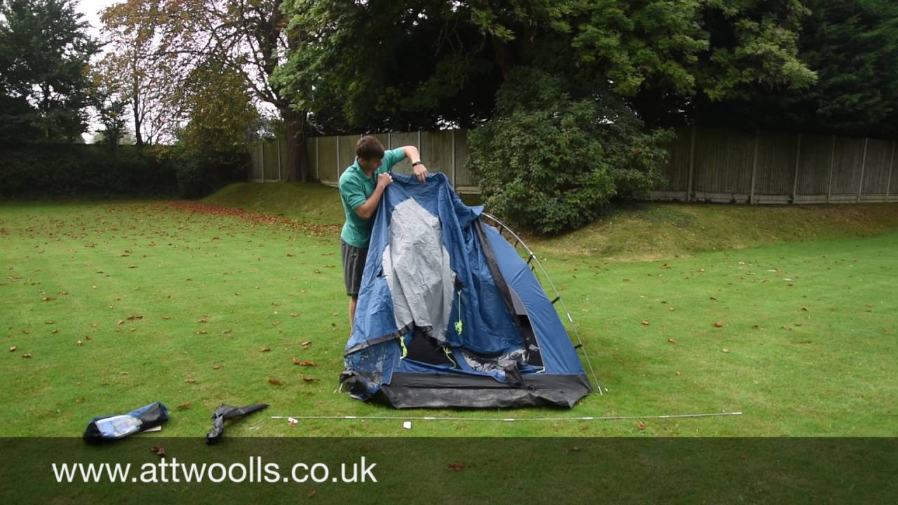 How to pitching a small Dome Tent (Tutorial Video) & How to pitching a small Dome Tent (Tutorial Video) - YouTube