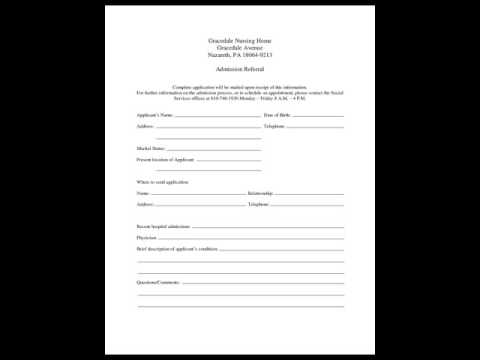 Hospital Discharge Form Template - Youtube