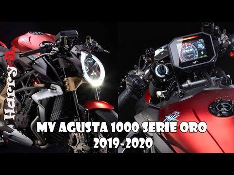MV Agusta 1000 Serie Oro 2019-2020