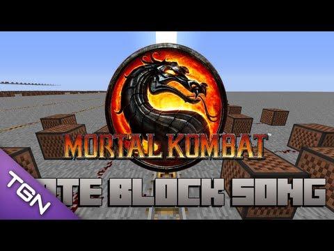 Minecraft Note Blocks: Mortal Kombat Theme Song