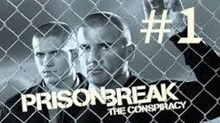 Prison Break Conspiracy Walkthrough Part 1!!