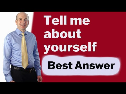 "Good Interview Answer to ""Tell me about yourself"" YouTube Top Pick"