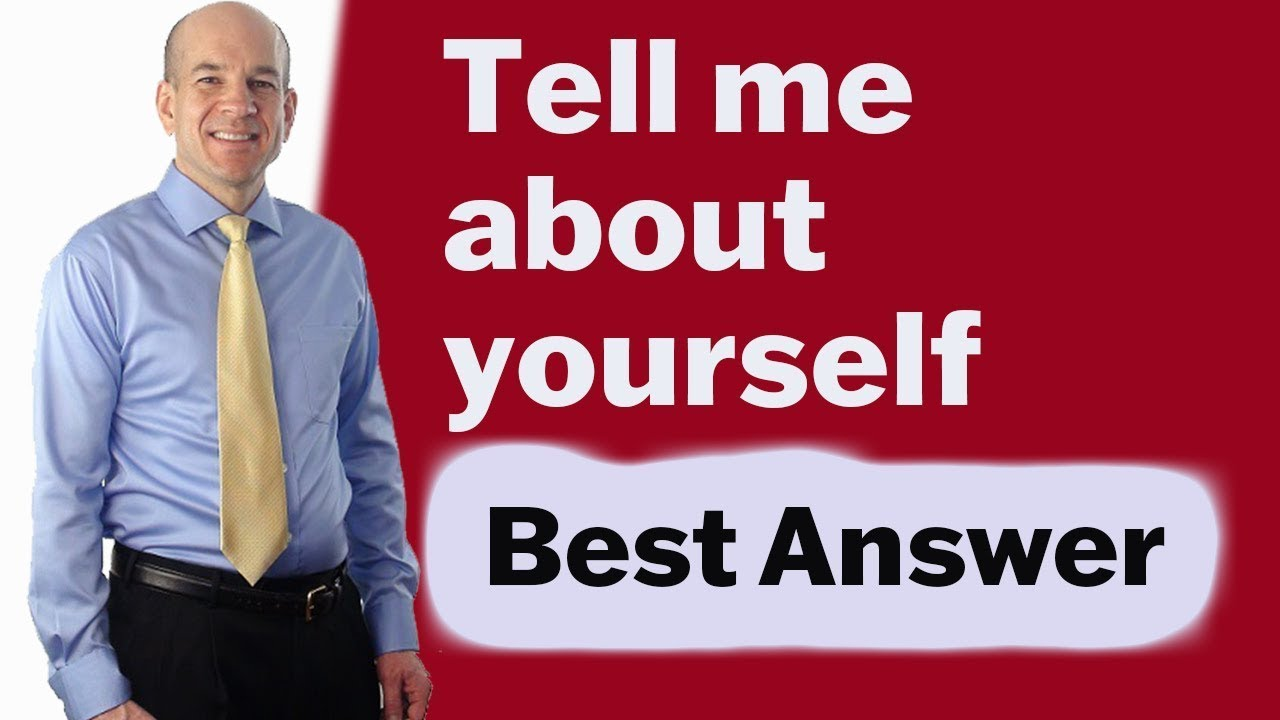 Tell Me About Yourself - Best Answer to this Interview Question - YouTube  Top Pick