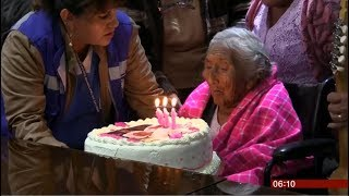 Oldest person on Earth at 118 years old (Bolivia) - BBC News - 28th October 2018