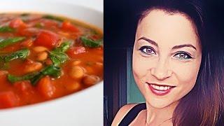 Экспресс-диет-эксперимент! День 1, выпуск 5. Диетический томатный суп-минутка.