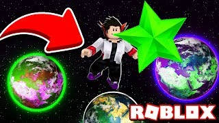 MADE a STAR GUM and went to the Moon in the Bubble Gum Simulator Roblox