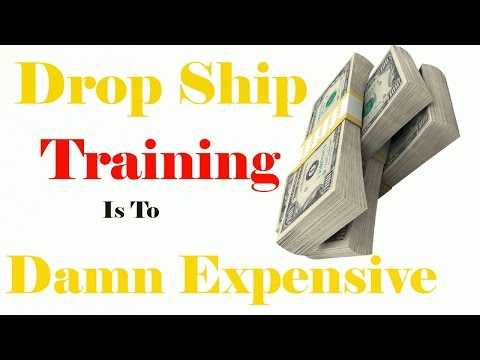 Drop ship training is expensive learn to dropshipping on Udemy