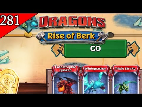 Berk Brawler - The Dragon Fight | Dragons: Rise of Berk [Episode 281]