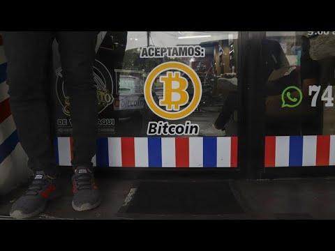 El bitcóin ya es moneda legal en El Salvador