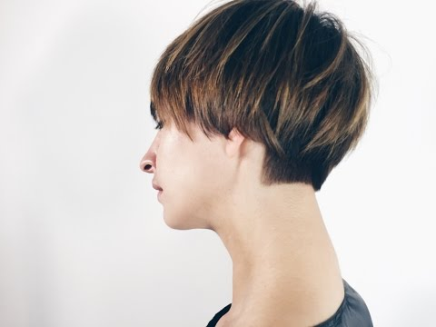 How to cut short women haircut
