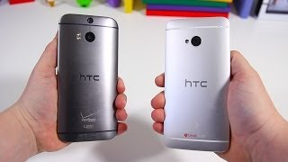 All New HTC One (M8) vs HTC One (M7) - Full Comparison