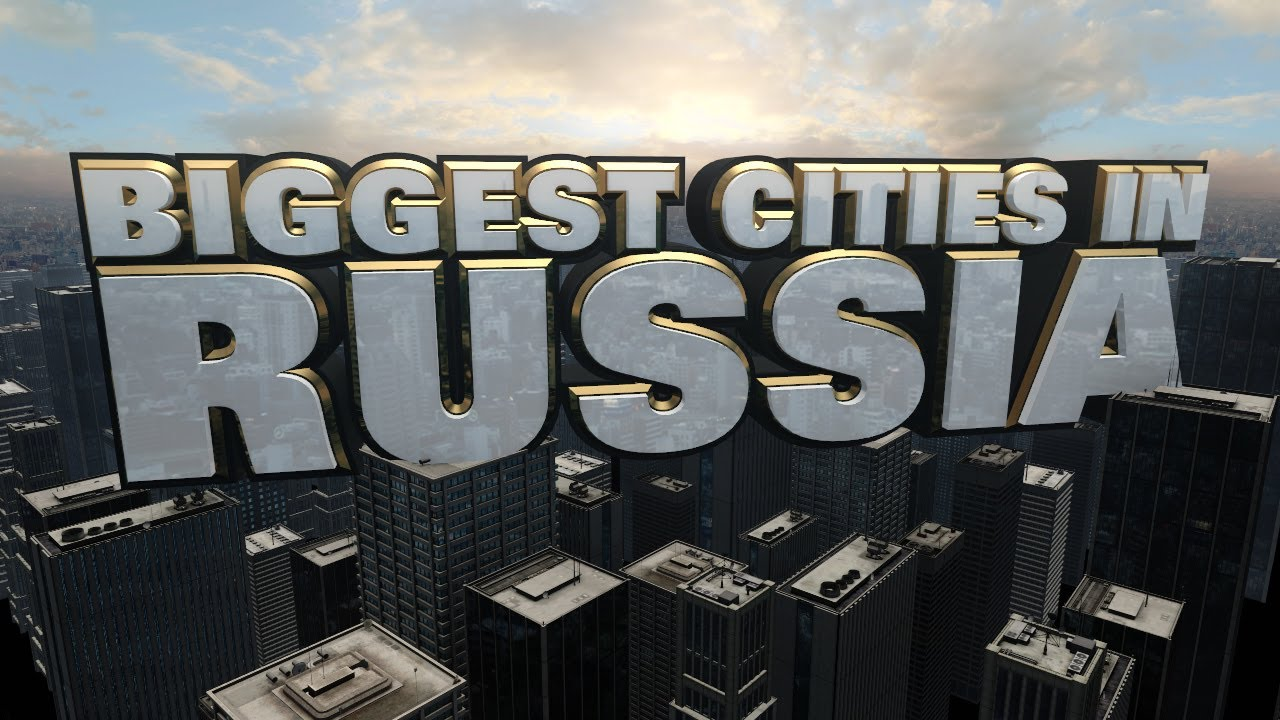 Ten largest cities of Russia 60