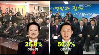 MBC 선택 2007 - 대선 개표방송 카운트다운 (KOREA ELECTION EXIT POLL COUNT DOWN)