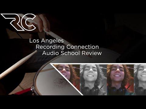 Los Angeles Recording Connection Audio School Review