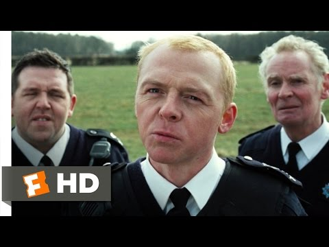 Hot Fuzz (4/10) Movie CLIP - Sea Mine (2007) HD