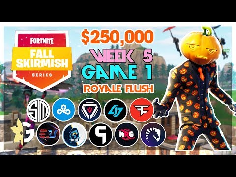 $250,000 🥊Big Bonus Fall Skirmish🥊 Week 5/Game 1 (Fortnite)