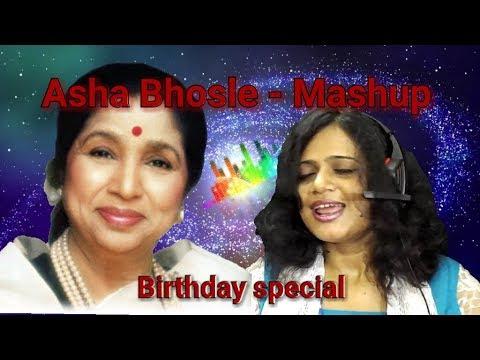 Asha Bhosle Mashup || Best of Asha ji || Cover by Sayanti || Sayanti Music Galaxy
