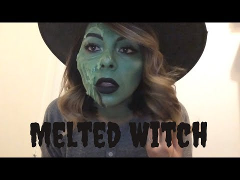 Melted Witch Tutorial | Halloween Week