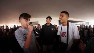 BMO vs MR DREKA- Batalha de rap do museu épica master - QUEM GANHOU