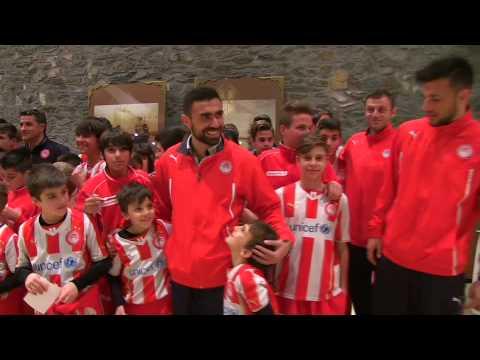 Υποδοχή της ομάδας μας στην Θεσσαλονίκη / Reception of our team at Thessaloniki