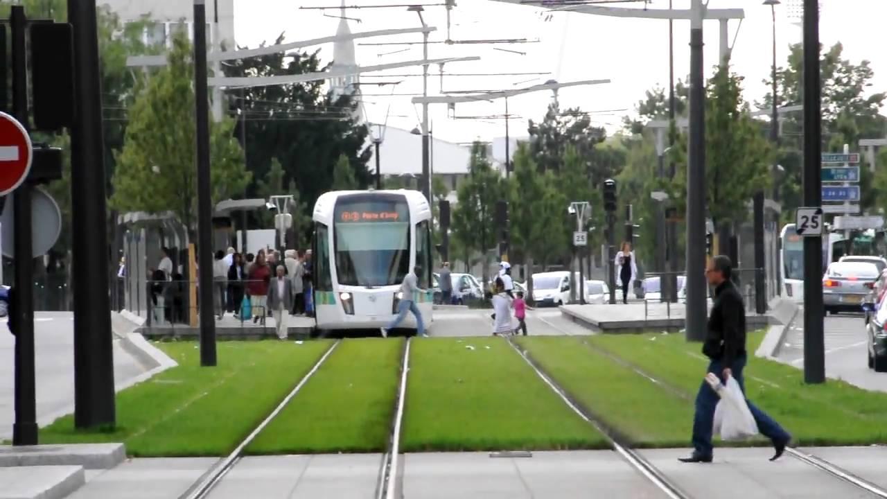 Tramway t3 porte d 39 italie nikon d90 youtube - Station total porte d italie ...