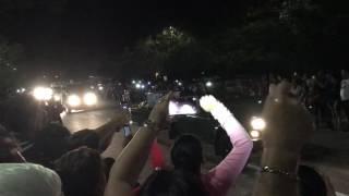 Fidel Castros aska körs genom Santa Clara på Kuba