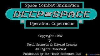 Deep Space gameplay (PC Game, 1987)