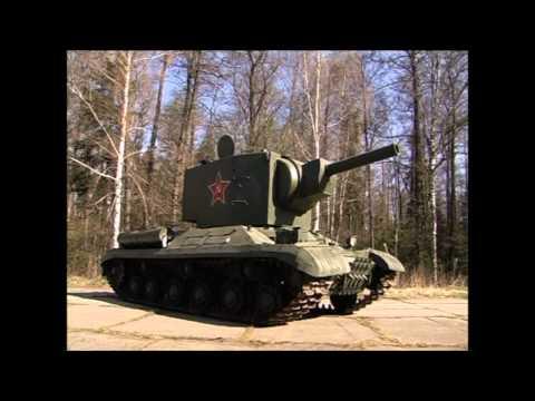 Тест-драйв ТАНК КВ 2 / Tank KV 2 | Обзор, история создания | Иван Зенкевич
