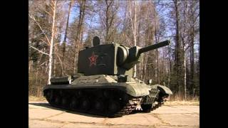 тест-драйв ТАНК КВ 2 / Tank KV 2  Обзор, история создания  Иван Зенкевич