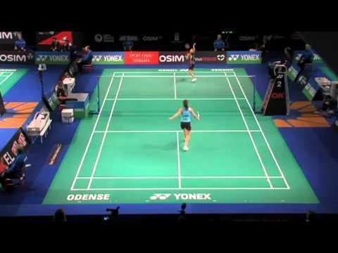 R16 - WS (Court 2) - Juliane Schenk vs Sapsiree Taerattanachai - 2012 Yonex Denmark Open