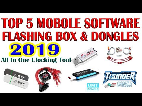 Top 5 Mobile Software Flashing Box & Dongles