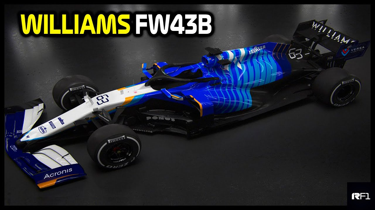 WILLIAMS FW43B - MUDANÇA RADICAL