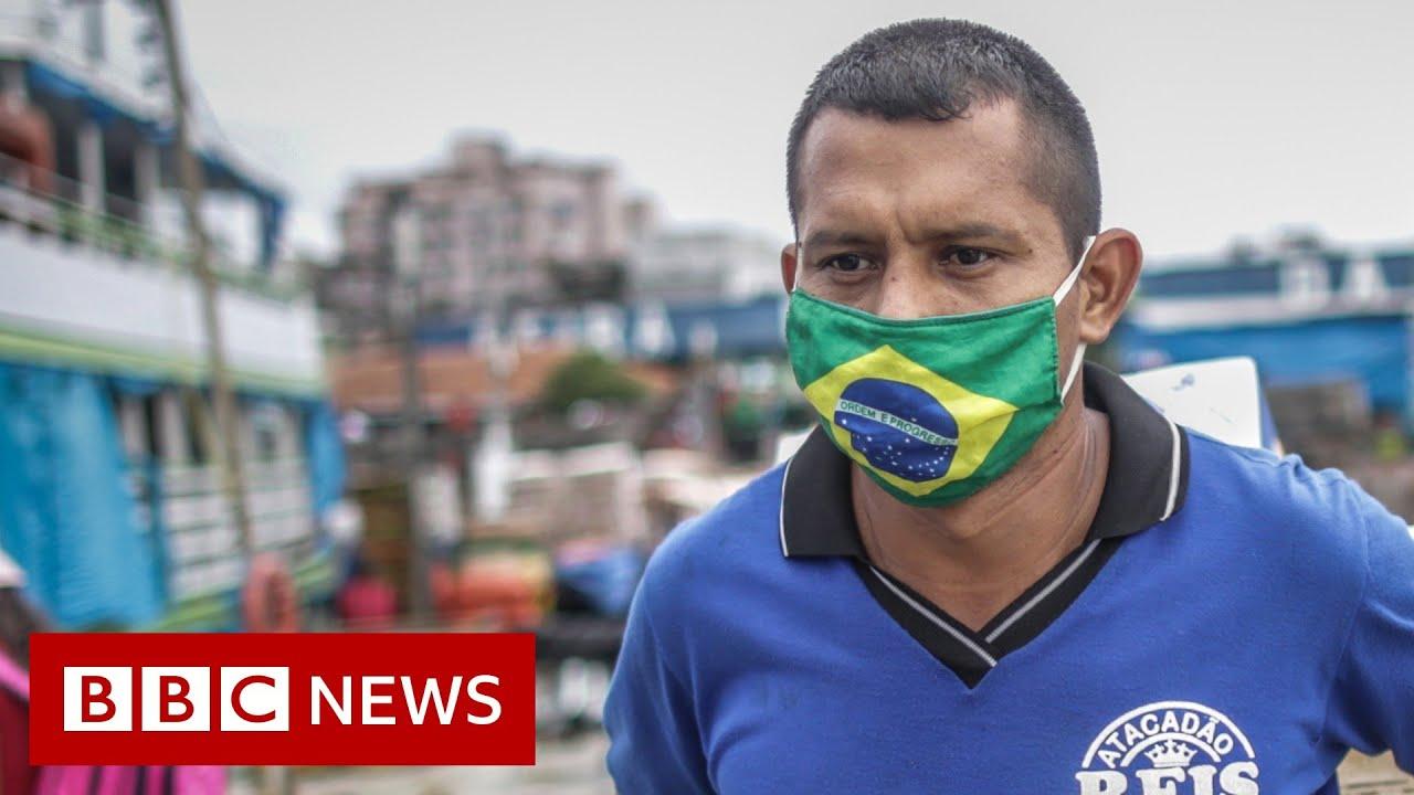 Coronavirus: Brazil records third-highest Covid-19 infection level ...