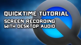 Download lagu How to Record Desktop Audio with Quicktime Screen Capture Tutorial MP3