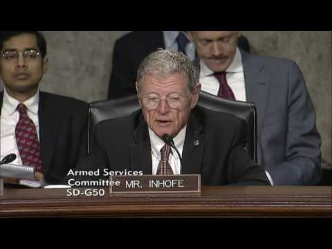 Inhofe Q&A at SASC Hearing on Policy in the Asia Pacific