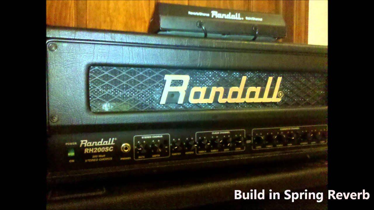 Randall RH200SC craigslist peoria - YouTube