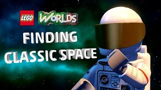 How To Find and Play the Classic Space Pack  - LEGO Worlds FAQ