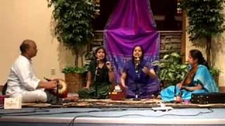 Indariki Abhayambu - Chakravarthy Sisters - Annamacharya Aradhana 2008-Portland,USA
