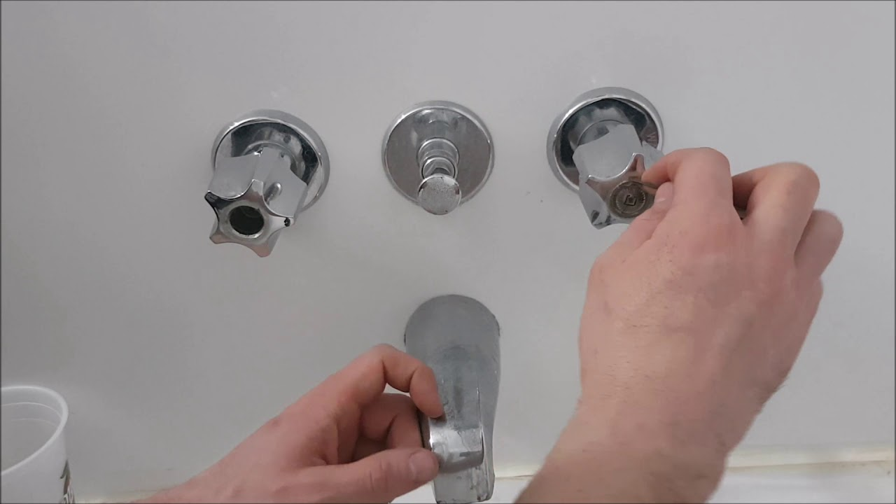 How To Fix A Leaky Bathtub Faucet Tap Drip Dripping ...