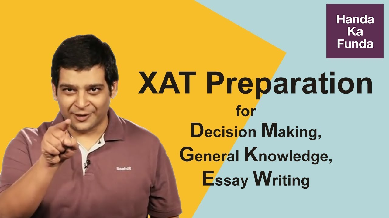 model essay for xat Previous year xat papers, old xat papers with explanatory answers in some cases, we have also appended videos to help understand the solution better.