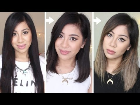 My Hair Transformation Ombre Balayage Youtube