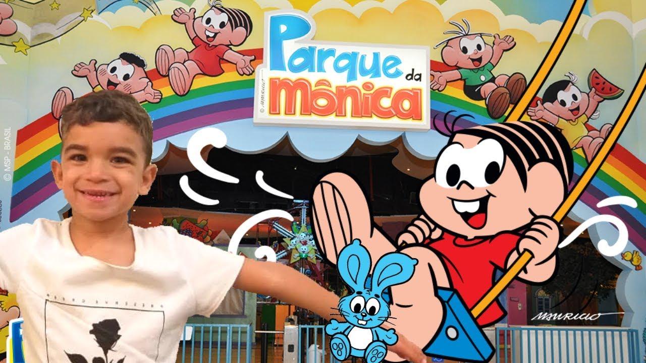 Fui no Parque da Mônica | Parque da Monica | turma da mônica laços | filme cascão cebolinha magali