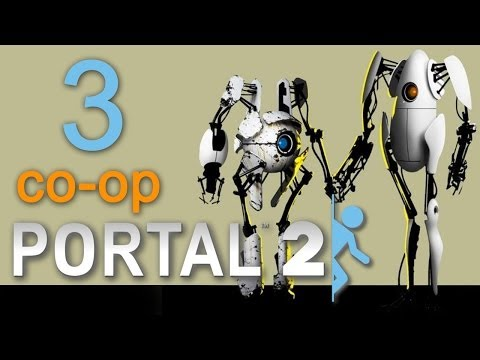 Portal 2 - Прохождение игры на русском - Глава 5: Побег