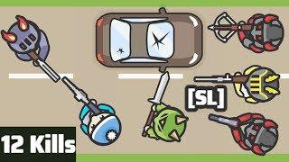Foes.io - Corrupt X vs [SL] Clan (and Everyone Else) - 12-Kill Streak