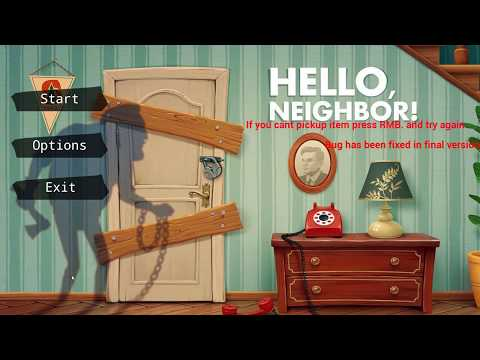 Hello Neighbor Prototype Gameplay (no MODKIT) thumbnail