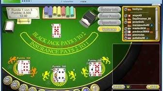 Regeln erklärt: Blackjack Duell online spielen
