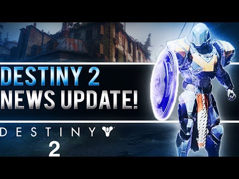 DESTINY 2 NEWS UPDATE! (Dedicated Servers and Destiny 2 At E3!)